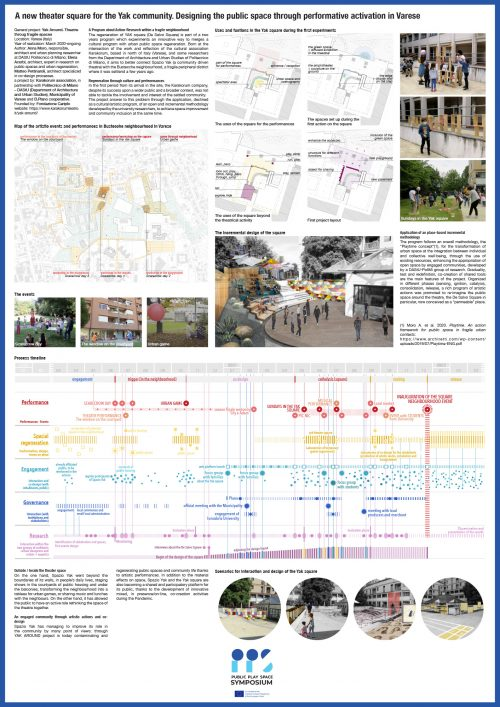 Moro: A new theater square for the Yak community. Designing the public space through performative activation in Varese
